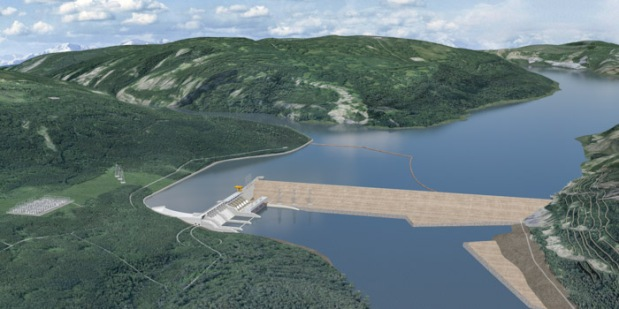 The Peace River Hydro Partners (PRHP) Site C Clean Energy Project, BC, Canada.